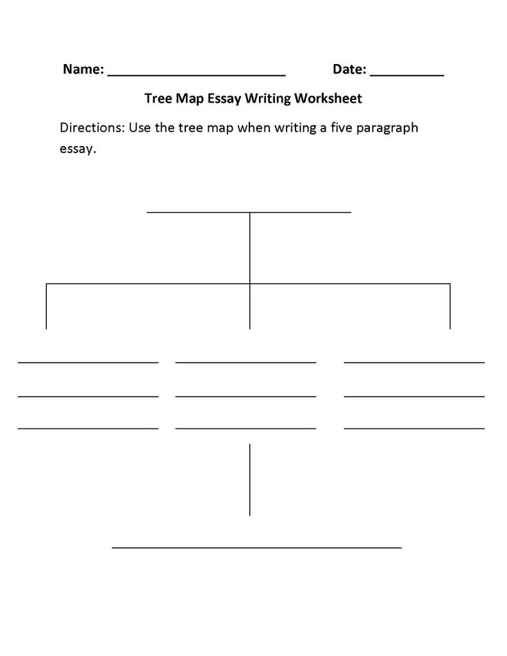 Essay writing worksheets for grade 5