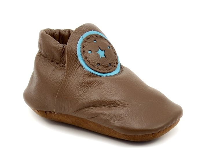 Baby Buttercup Moccasin - Chocolate