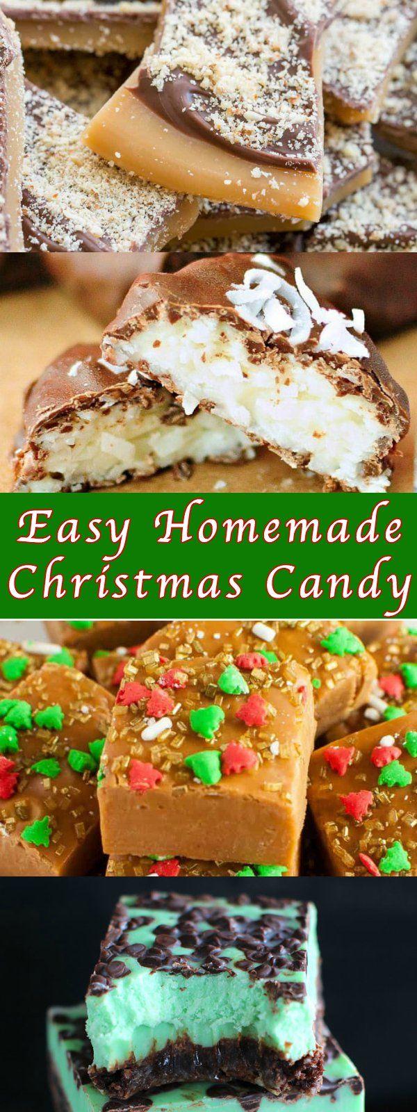 Easy Homemade Christmas Candy