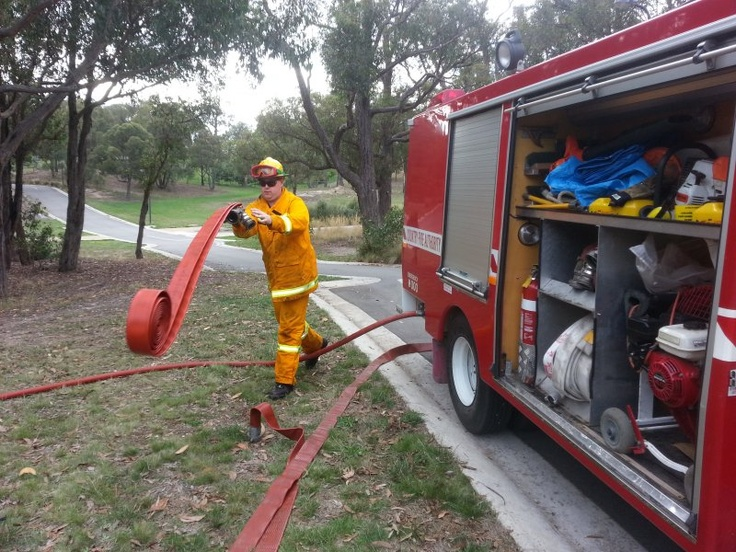 Training continues into the cooler months at Gisborne brigade