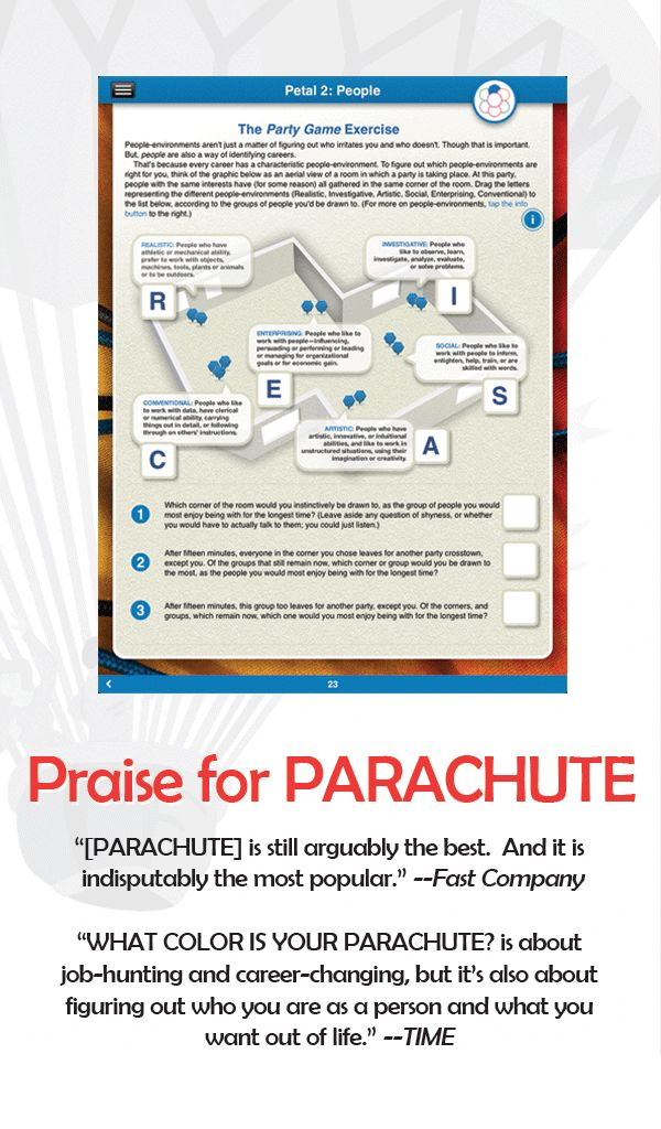 What Color is Your Parachute? Job-Hunter's Workbook Tablet Edition for Nook. » Apps » Random House Digital