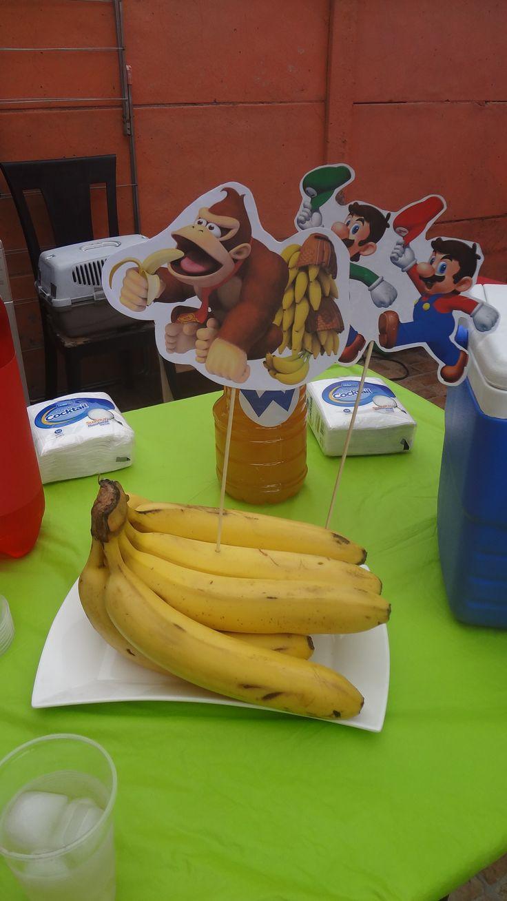 Decoración Donky Kong Bananas.