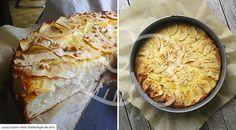 Low Carb Rezept für einen leckeren Low-Carb Apfel-Käsekuchen. Wenig Kohlenhydrate und einfach zum Nachkochen. Super für Diät/zum Abnehmen.