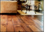 5, 7, 9 Custom Hand Scraped Wide Plank Long Length Walnut Hardwood Flooring