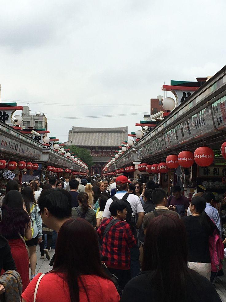 Senso-ji Tempel Tokyo