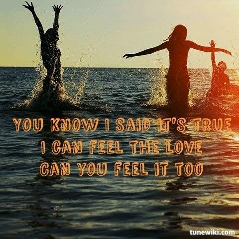 "-- #LyricArt for ""Feel The Love - feat. John Newman"" by Rudimental"