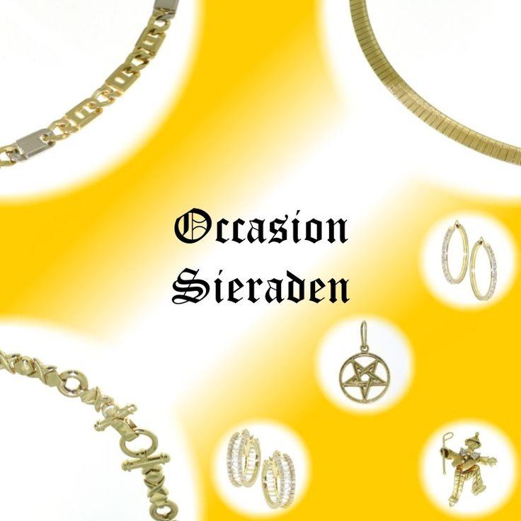 Alweer occasion sieraden bij CD Juwelier. Tja, we kopen veel gouden sieraden in dus hebben we ook veel om te verkopen.   http://www.cdjuwelier.net/occasion