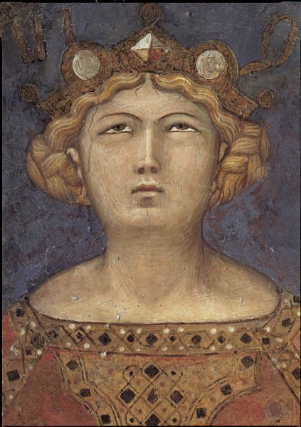 Ambrogio Lorenzetti | Bild: Ambrogio Lorenzetti - Kopf der Justitia