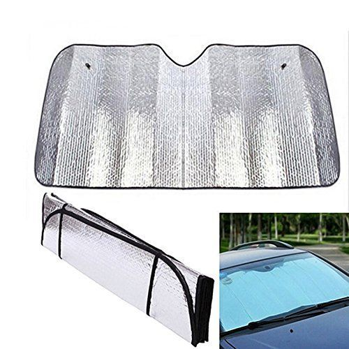 Couverture de Parebrise – Protection Glace, Poussière, Anti-givre – Couvre Bouclier de Chaleur: Durable et léger. – Laissez votre voiture…