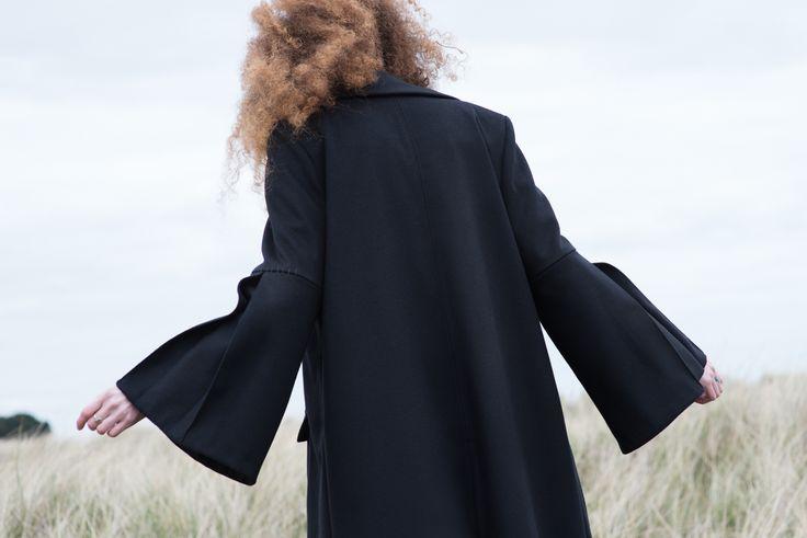 Cashmere blend winter coat #cashmere #wintercoat #fashion