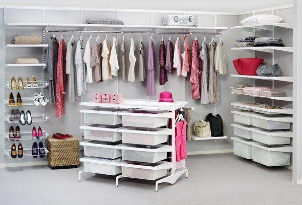 elfa freestanding closet