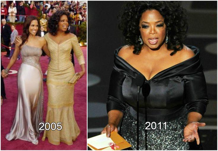 Oprah Winfrey 77th Academy Award Ceremony weight loss. Oprah Winfrey, celebrity, weight loss, diet.