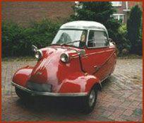 Oude auto's (10) - De Messerschmitt -