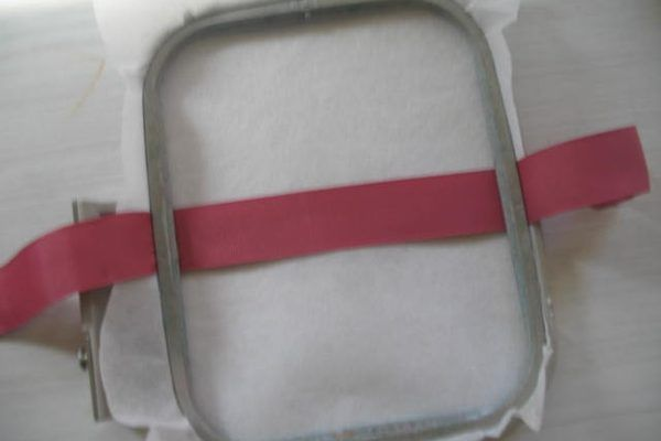 How to Do Machine Embroidery on Ribbon | eHow