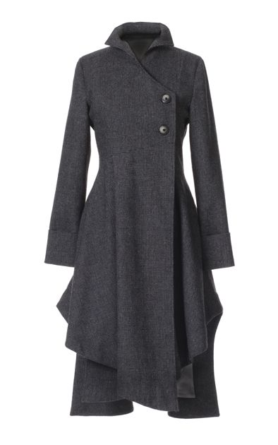 I want this, so I can look cute and stylish, but mostly because in my head I'd be pretending I was Snape.<-- this is what my best friend said while pinning this! I love her: Grey Coats, Cute Coats, Gorgeous Grey, Birds Of Prey, Prey Coat, Coats Abrigos, Coats Jackets, Jackets Coats, Winter Coats