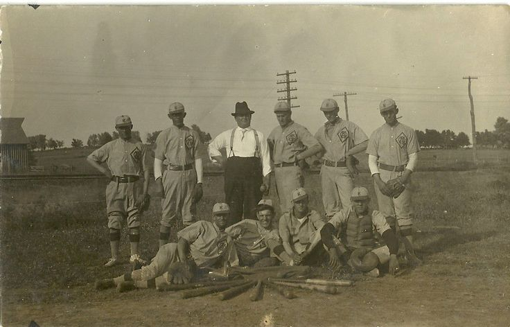 WARRENSBURG MISSOURI MO - 1930s Barnstorming Baseball Team
