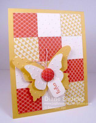 Stampin' Up! - Diane Squires - Mojo Monday 238