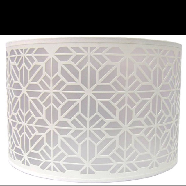 Geometric Lampshade For Living Room