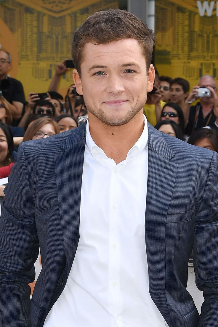 Taron Egerton In a crowd of people, for him to look at only me like that...