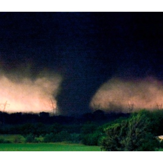 Beautiful and Terrible:  The Bridge Creek F5 Tornado of May 3, 1999 lasted for 3 days.  At 318 mph, this tornado was the most powerful windstorm ever recorded on the planet.
