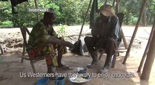The Netherlands' Metropolis TV traveled to one cocoa farm in the Ivory Coast earlier this year to speak to the farmers about the problem.
