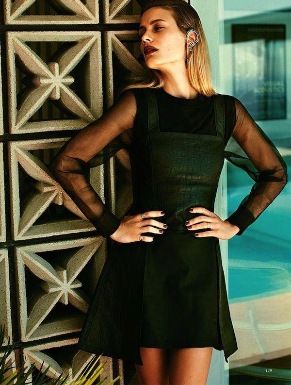 Natalia O'Nous | Chee Steven | Fashion Quarterly Summer Nueva Zelanda 2012/13 | 'American Beauty' - 3 Editoriales de Moda Sensual | Exposiciones de Arte - Ana de Noticias de la Mujer Carversville