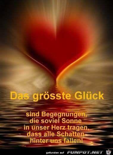 ein Bild für's Herz 'das größte Glück.jpg'- Eine von 15875 Dateien in der Kategorie 'Sprüche' auf FUNPOT.