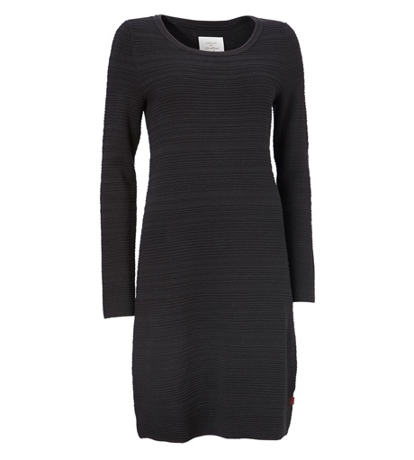 Sleek and svelte, this sustainable dress by Jackpot enjoys a simple and stylish design and is made from 80% organic cotton.