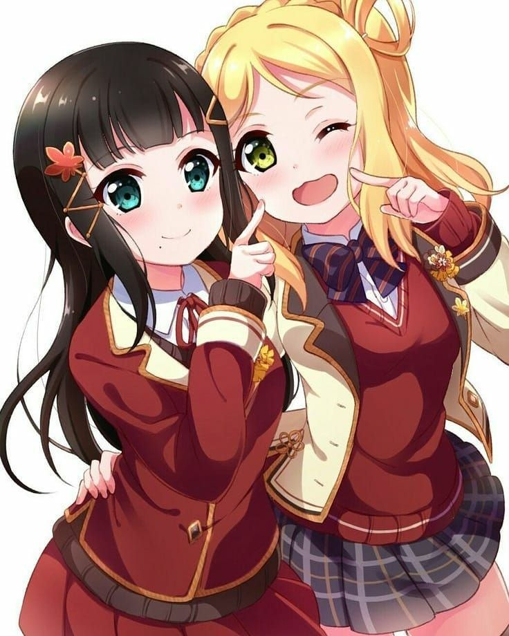 Hugedomains Com Anime Friendship Anime Bff Anime Sisters Best friends anime wallpapers