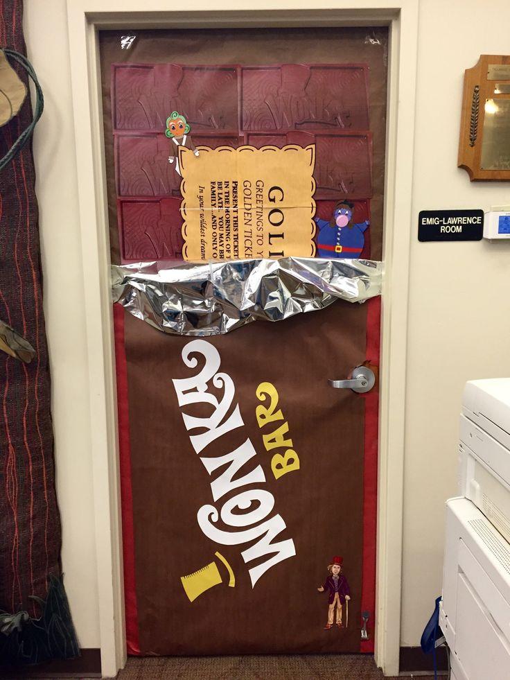 Willy Wonka Door- Tallmadge | chocolate factory decor ...