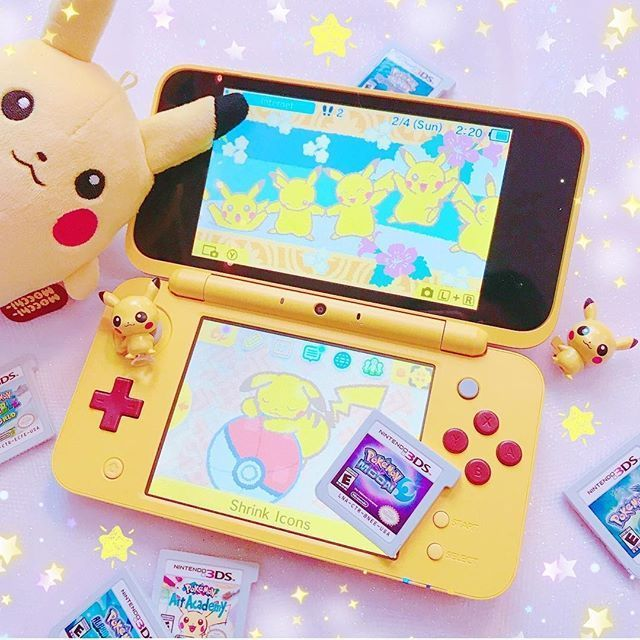3ds Games 2020.Console Nintendo Nintendo3ds Kawaii Games Nintendo Pokemon