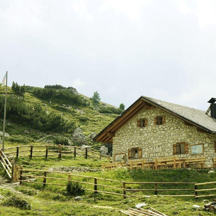 Beautiful stone house restaurant near the Drei Zinnen. #Dolomiti #Dolomites #Tirol #Italy
