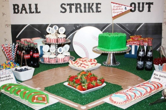 Baseball Party Ideas for Boys