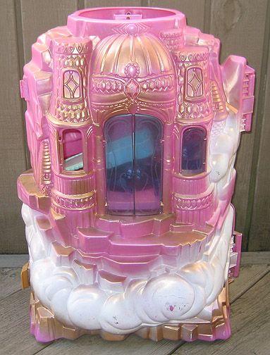 She-ra Castle. It had a WORKING ELEVATOR! Magical.