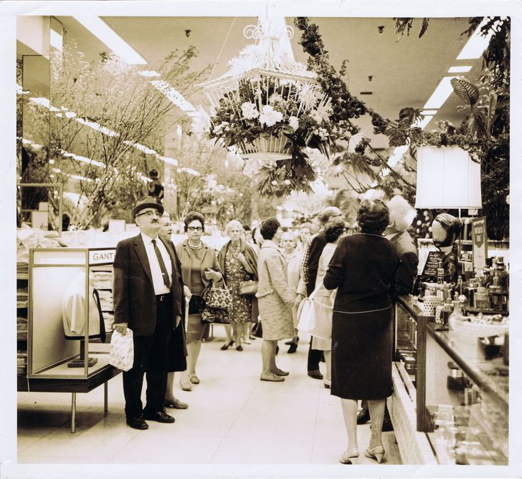 Flooring Sales Hamilton: Department Store, 1960s And Flower On Pinterest