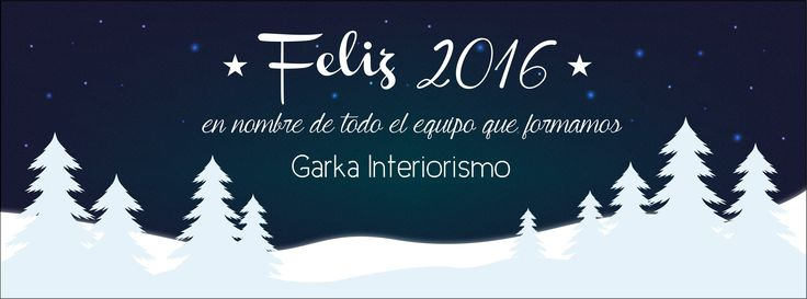 FELIZ 2016 | HAPPY NEW YEAR