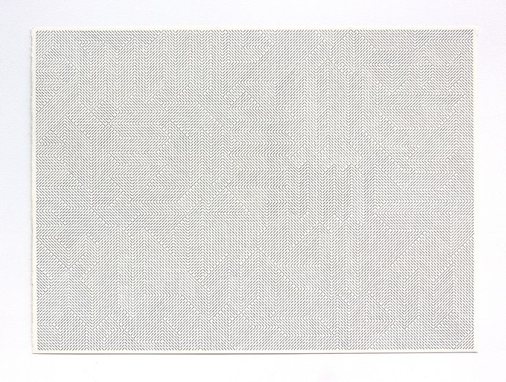 Giulia Ricci - ORDER / DISRUPTION No. 63 - 2013 - ink brush pen on paper, 56 - 76.5 cm