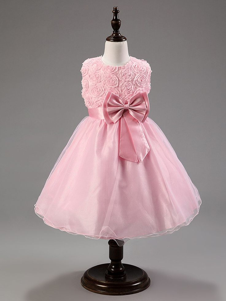 Платье принцессы с бантом