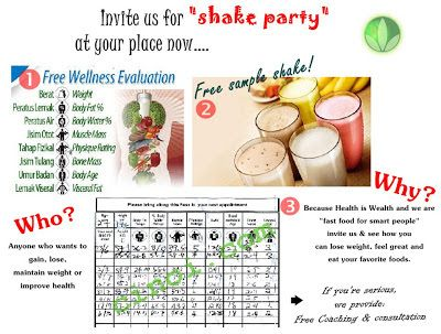 21 Best Herbalife Shake Party Ideas Images On Pinterest Healthy
