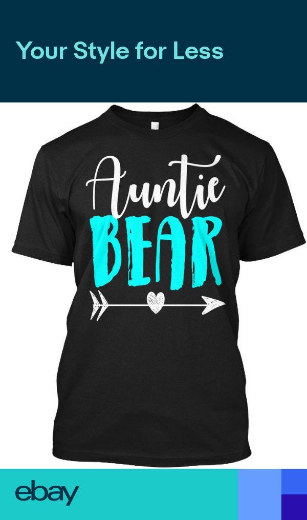 Auntie Bear Apparel Hanes Tagless Tee T-Shirt
