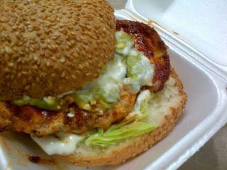 Mochachos Gourmet Cheese Burger