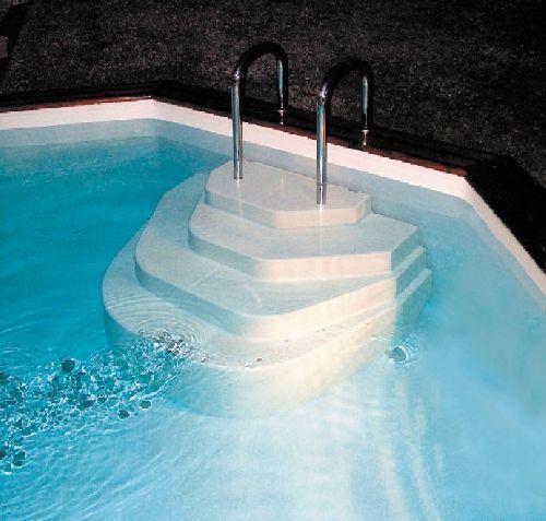 20 beste idee n over bovengrondse zwembaden op pinterest - Deco terras zwembad ...