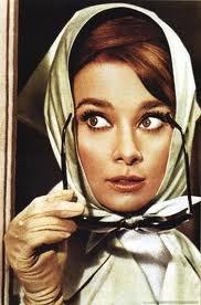 .: Head Scarfs, Inspiration, Audrey Hepburn, Style Icons, Fashion Accessories, Audreyhepburn, Charade, Silk Scarves, Eye