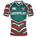 The new Leicester Tigers shirt - yes!   via tigers.co.uk