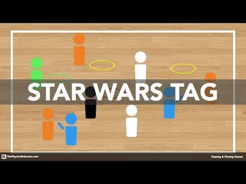 Star Wars Tag - Physical Education Game (Chasing & Fleeing) - YouTube