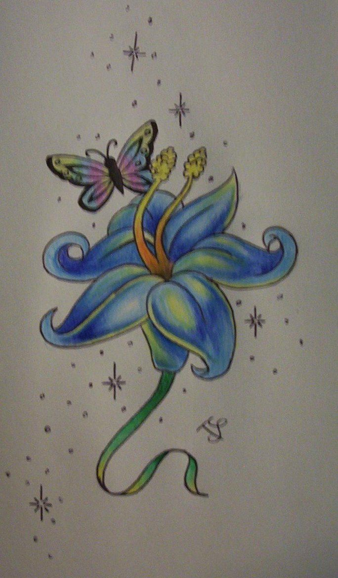Blue Flower Tattoo Designs: 35 Best SIGNATURE DESIGNS Images On Pinterest
