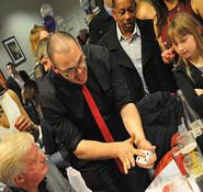 Comedy magicians  his is brilliant for Corporate events, private events, product launches and more. the Illusion shows are truly memorable and will leave guests talking baout the event for a long time after. we also supply a large range of close up magicians, table magicians for hire, table magicians for hire in London, close up magicians for hire UK.