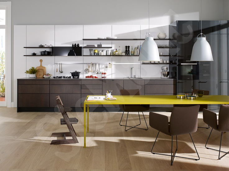 Siematic Floatingspaces Siematic 4004 5005 Graphite Oak