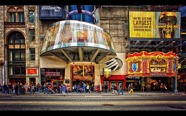 Madame Tussauds wax museum, New York .
