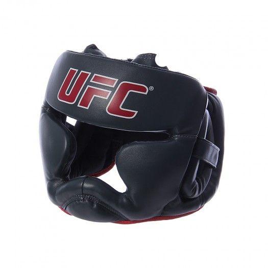 Diseñado para una visibilidad óptima y la cobertura durante el entrenamiento la Careta UFC, cuenta con pleno acolchonamiento en la frente, las mejillas y el mentón.